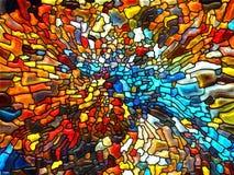 Эволюционируя цветное стекло Стоковая Фотография