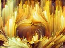 Эволюционируя цвет Стоковое Фото