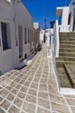 Эгейская архитектура Стоковые Фотографии RF