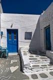 Эгейская архитектура Стоковая Фотография RF