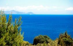 Эгейский океан Стоковое Изображение RF
