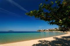эгейский пляж Стоковые Фото