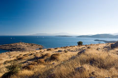 эгейский seascape bodrum Стоковое Изображение RF