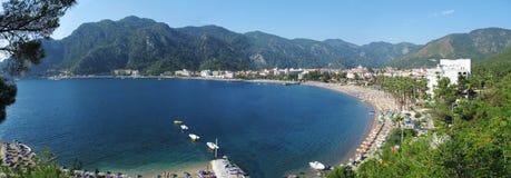 эгейский turkish моря курорта панорамы marmaris Стоковые Фотографии RF