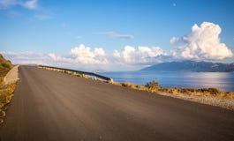 эгейское море ландшафта Стоковые Изображения