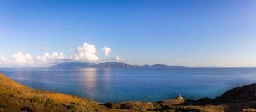 эгейское море ландшафта Стоковое Изображение RF