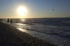 Эгейское море Греции Родоса Стоковое Изображение RF