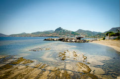Эгейское море Греция острова Skyros Стоковые Изображения RF