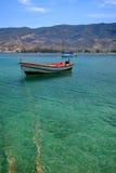 эгейское море рыболовства шлюпки Стоковое фото RF