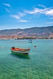 эгейское море рыболовства шлюпки Стоковые Изображения RF