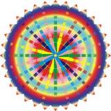 эзотерическое мандала иллюстрации Иллюстрация вектора