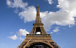 Эйфелеваа башня Стоковое Фото