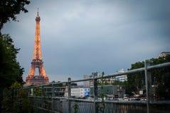 Эйфелева башня в Париже стоковая фотография rf