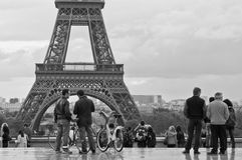 Эйфелева башня Стоковое фото RF