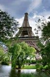 Эйфелева башня 3 стоковая фотография