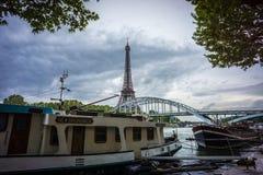 Эйфелева башня в городе Парижа Франции Стоковое Изображение