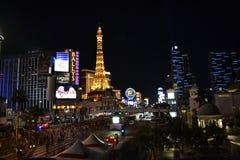 Эйфелева башня Лас-Вегас Стоковые Изображения