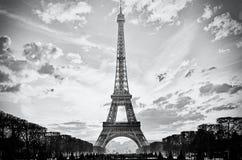 Эйфелева башня Парижа Франции Стоковое Изображение RF