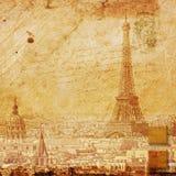 Эйфелева башня Париж, абстрактное цифровое искусство Стоковые Изображения RF