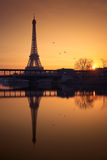 Эйфелева башня, Париж Стоковое Изображение RF
