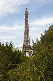 Эйфелева башня раннего вечера Стоковые Фотографии RF