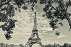 Эйфелева башня стоковая фотография rf