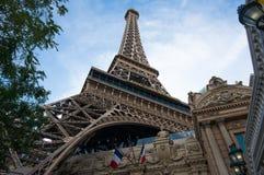 Эйфелева башня Las Vegas Стоковое Изображение