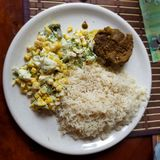 Эквадорская еда стоковое изображение