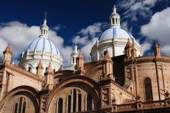 Эквадор, взгляд на городе Cuenca Стоковые Изображения RF