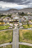 Экватор на Mitad del Mundo Стоковые Фото