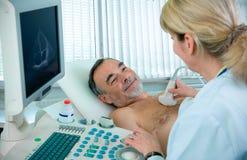 экзамен медицинский Стоковая Фотография RF