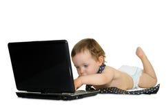 экзекьютив младенца стоковая фотография