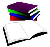экземпляр книги openning Стоковая Фотография