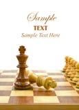 экземпляр шахмат доски соединяет космос стоковое изображение rf