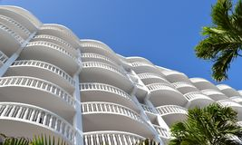 Экзотическая тропическая гостиница Стоковые Фотографии RF