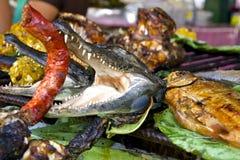 Экзотическая тропическая еда Амазонка, Перу Стоковое Изображение RF