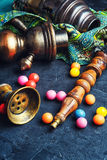 Экзотические кальян и жевательная резинка Стоковое фото RF