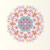 Экзотический круглый орнамент бесплатная иллюстрация