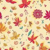 Экзотический цветочный узор фантазии бесплатная иллюстрация