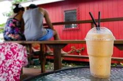 Экзотическое встряхивание питья плодоовощ Стоковые Фотографии RF