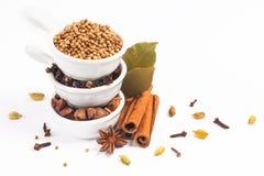 Экзотическое травяное смешивание концепции еды органического st циннамона специй Стоковое Изображение RF