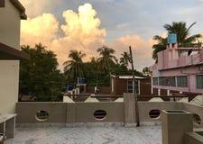 Экзотическое cloudscape Стоковое Фото