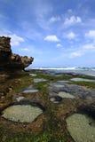 экзотическое tujuh ombak Индонесии Стоковые Фото