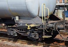 Экипажи железной дороги масляного бака стоковые фотографии rf