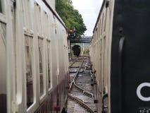 Экипажи поезда пара Стоковое Фото