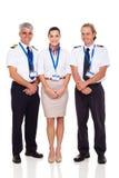 Экипаж авиакомпании Стоковая Фотография