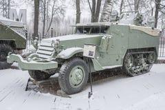 Экипаж мотора оружия M16-Multiple, США (1943) Стоковое Изображение