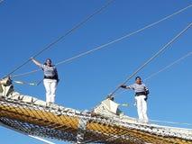 Экипаж на поляке Стоковое Изображение RF