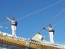 Экипаж на поляке Стоковая Фотография RF