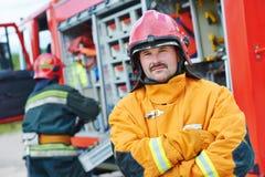 Экипаж пожарного стоковое фото rf